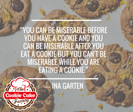 cookie quote with logo