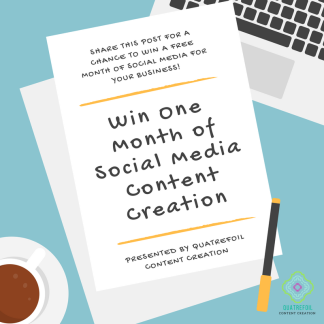 Free Month of Social Media