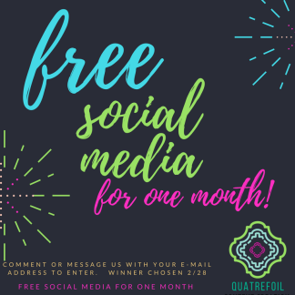 Free Social Media for One Month