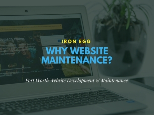 Iron Egg Why Website Maintenance_
