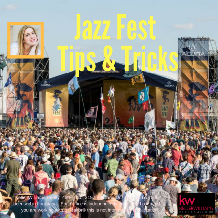 Jazz Fest Tips & Tricks