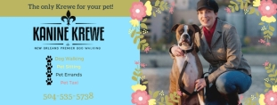 Kanine Krewe Banner Spring