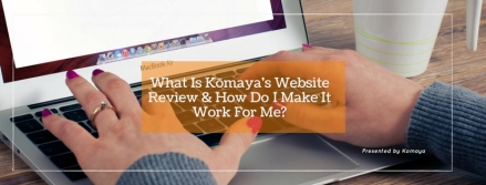 Komaya Website Review cover 2