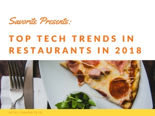 Top Tech Trends in Restaurants 1
