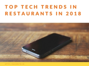 Top Tech Trends in Restaurants 2